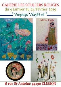 visuel expo voyage vegetal galerie souliers rouges